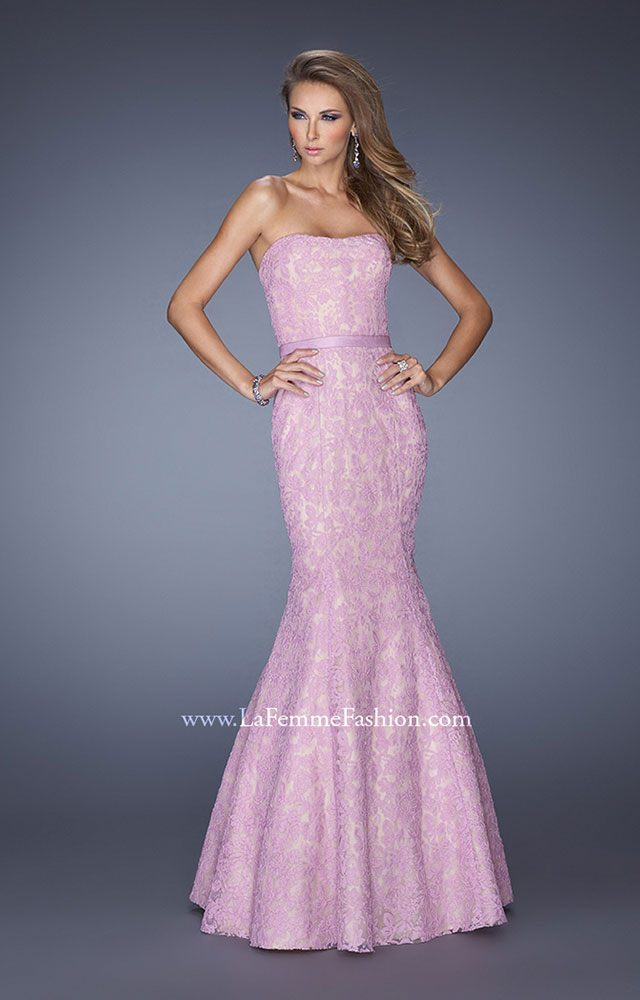 La Femme Dress 19219 at the Prom Dress Shop