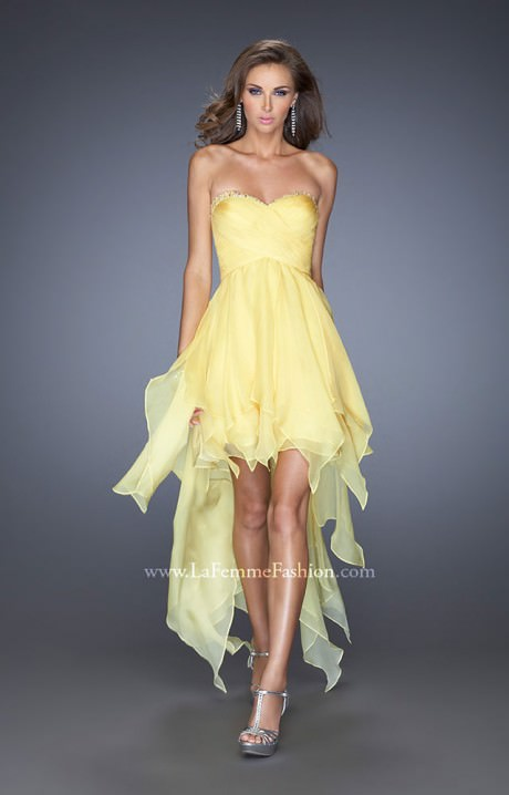 La Femme 19634 The Flirtini Prom Dress