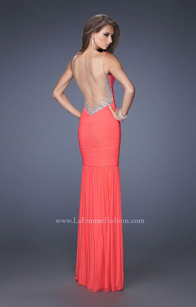 La Femme 19678 - The Backless Dream Prom Dress
