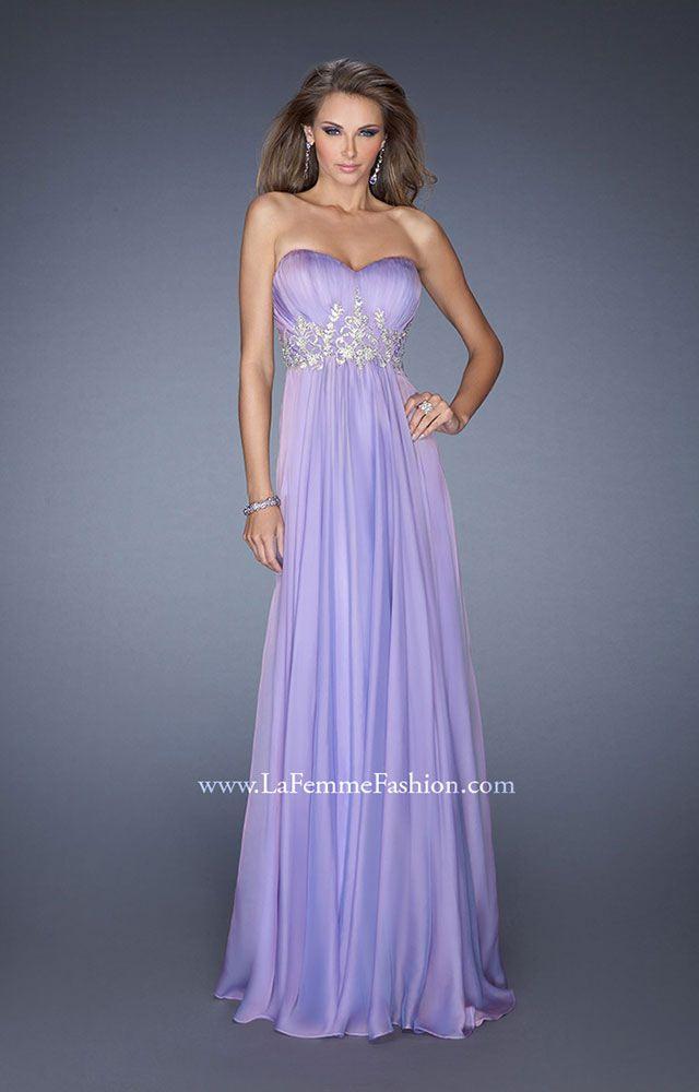 La Femme 19767 - A Midsummer Night\'s Dream Prom Dress