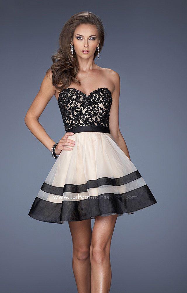 Short Full Skirt Prom Dress