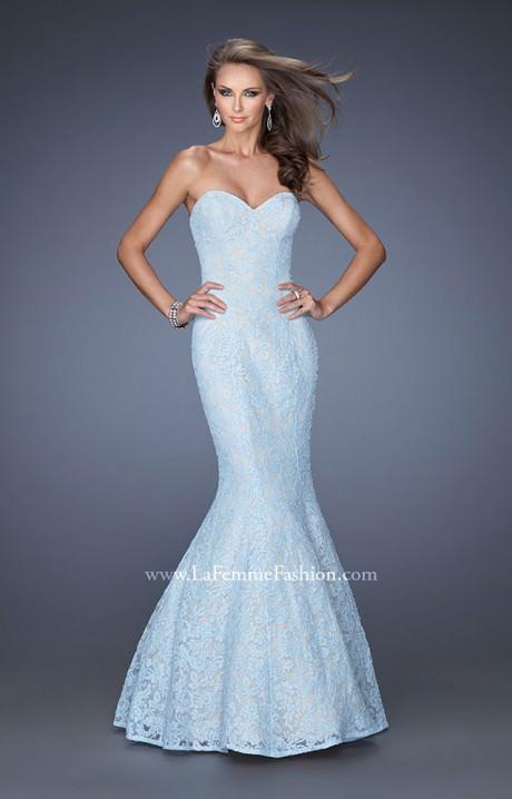 La Femme 20047 The Lace Mermaid Prom Dress