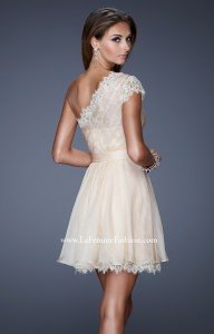 La Femme 20663 One Shoulder picture 1