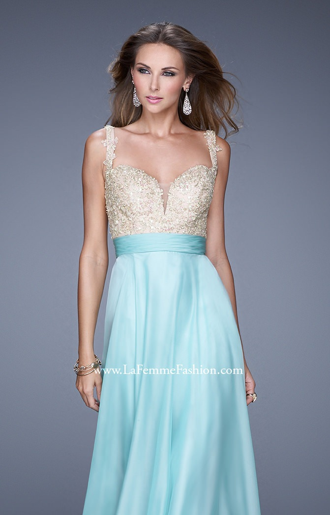 La Femme 20709 - The Ice Queen Prom Dress