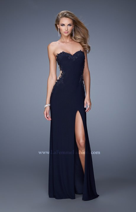 La Femme 20972 - The Barely There Gown Prom Dress