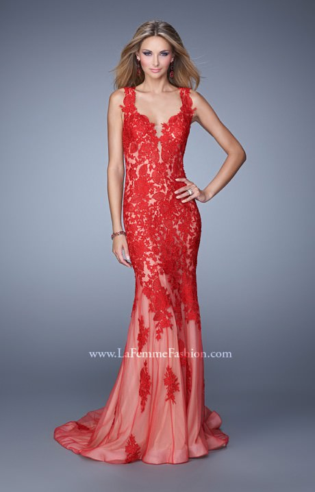 la femme 21156 the fire and ice gown prom dress
