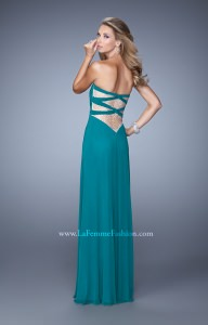 La Femme 21232 Strapless and Sweetheart picture 1