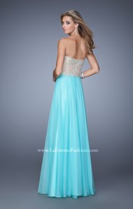 La Femme 21390 Strapless and Sweetheart picture 1