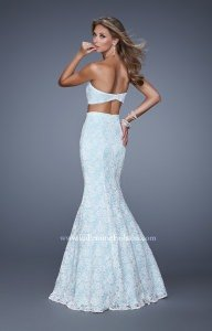 La Femme 21096 Strapless and Sweetheart picture 1