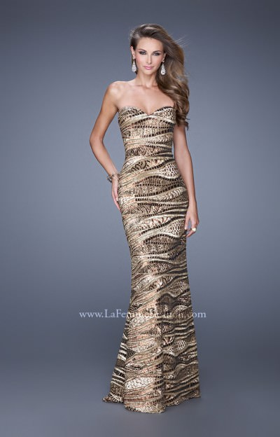 The Metallic Miracle Gown