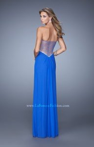 La Femme 21270 Strapless and Sweetheart picture 1