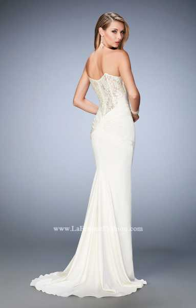 La Femme 22755 Strapless and Sweetheart picture 1