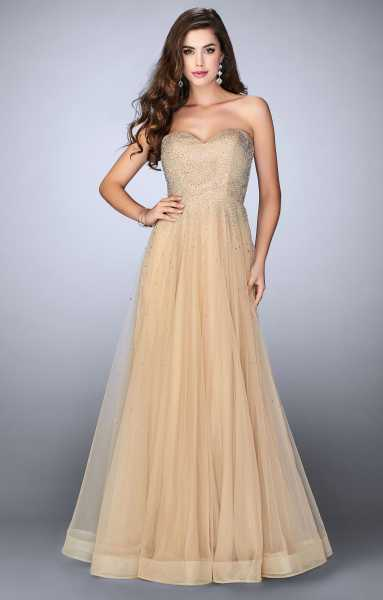 La Femme 22952 Strapless and Sweetheart picture 1