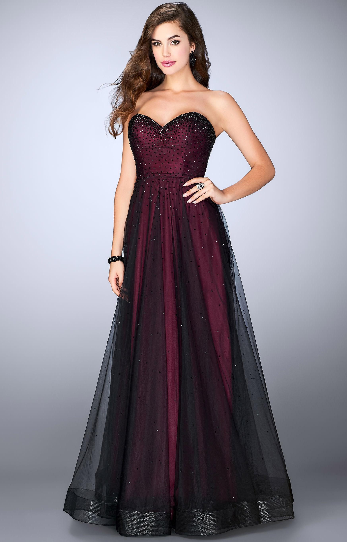 La Femme 23723 A Line Dazzling Dress Prom Dress