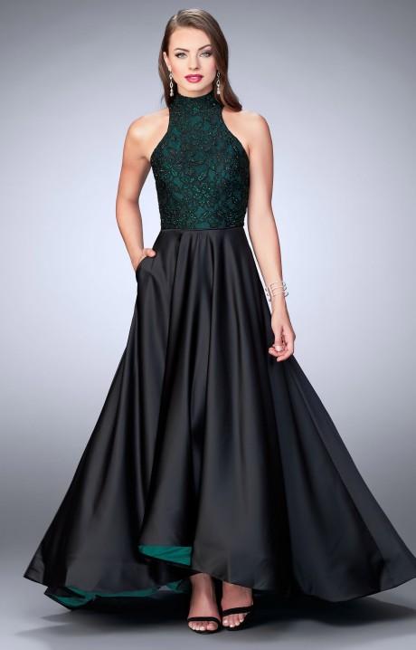 Long Coral Bridesmaid Dresses