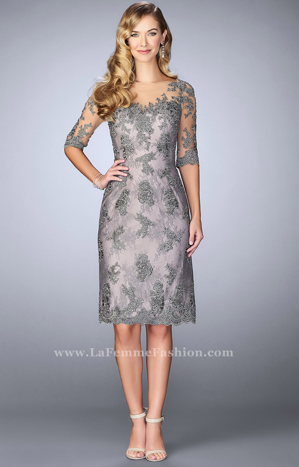 Modest Cocktail Dress With Sleeves