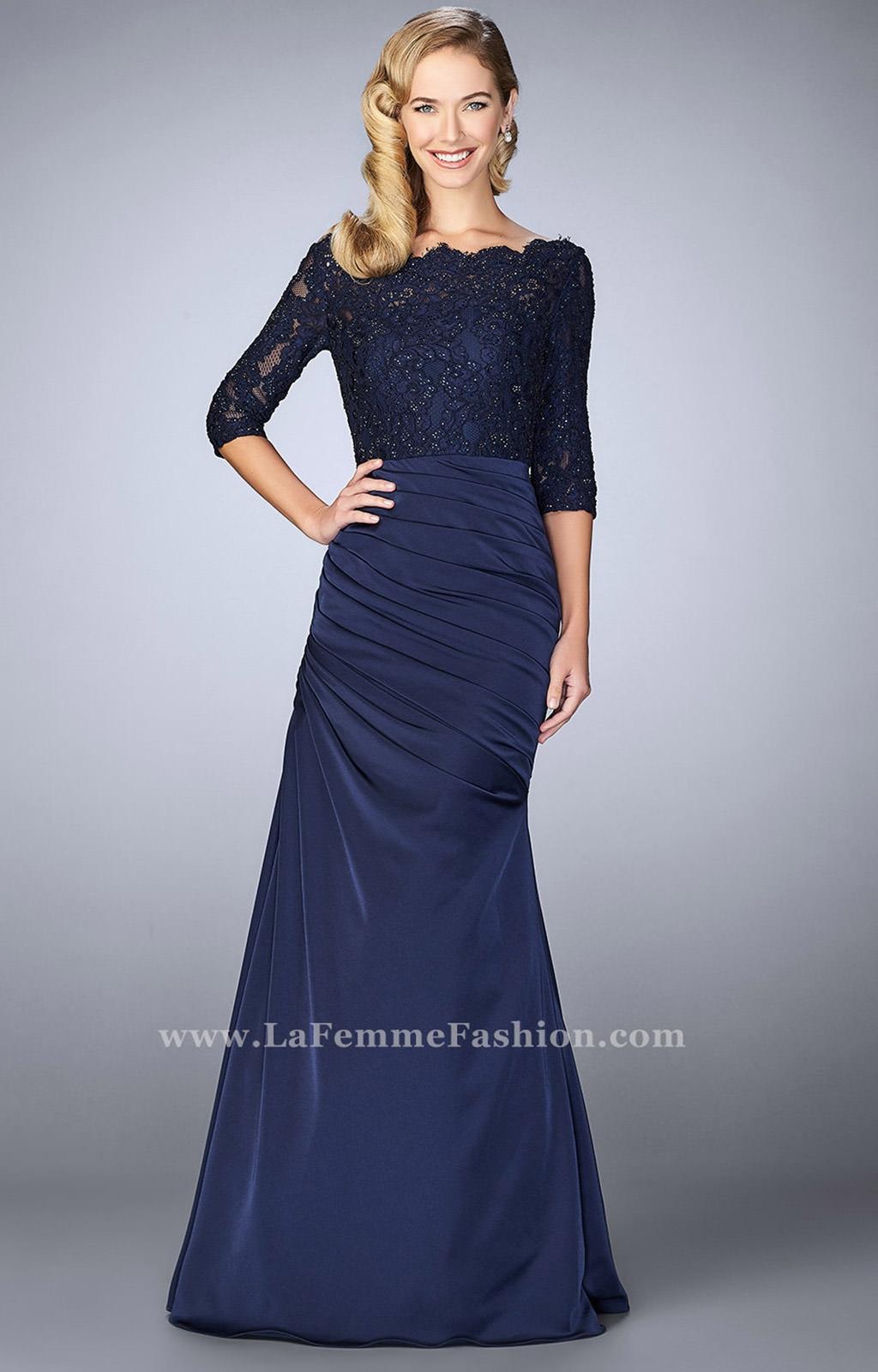 La Femme 24926 - Long Sleeve Prom Dress