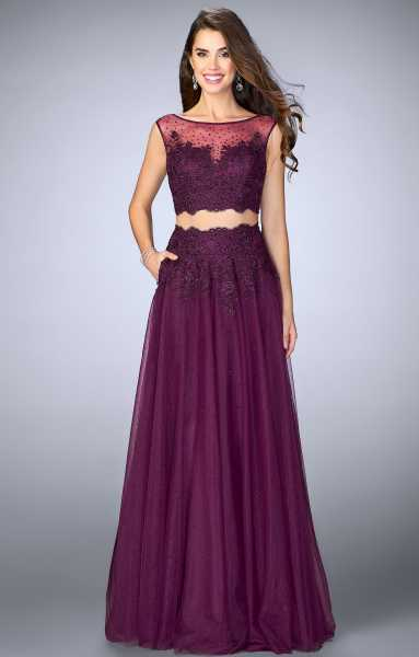 La Femme 23666 Two Piece and Ball Gowns picture 2