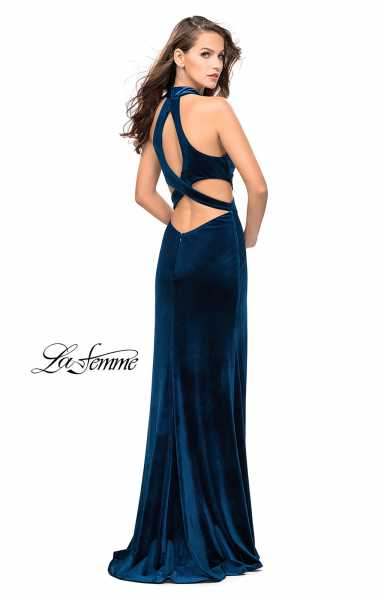 La Femme 25294 Fitted and Mock 2-Piece picture 2