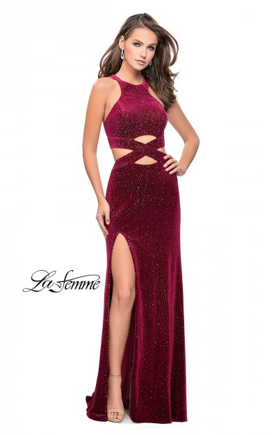 Velvet Dresses Designer Formal Evening Prom Or Pageant Dresses