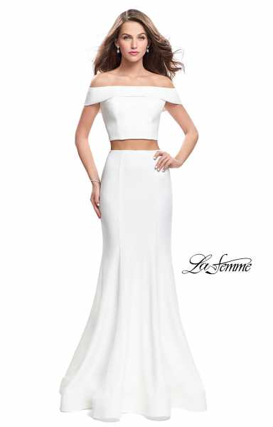 La Femme 25578 Fitted and Two Piece picture 2
