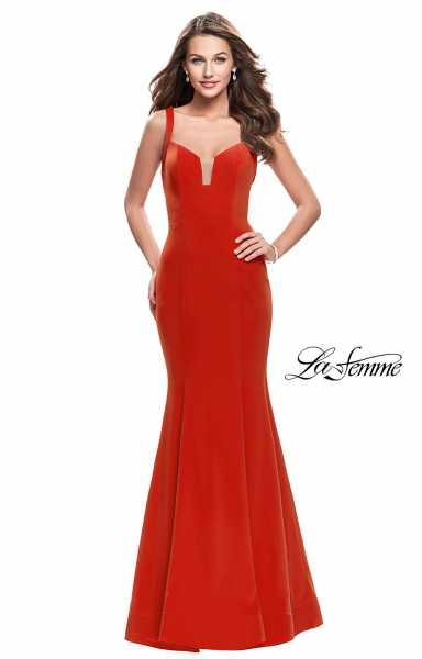 La Femme 25651 Sweetheart and Has Straps picture 1