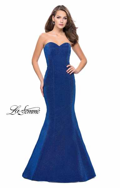 La Femme 25811 Strapless and Sweetheart picture 1