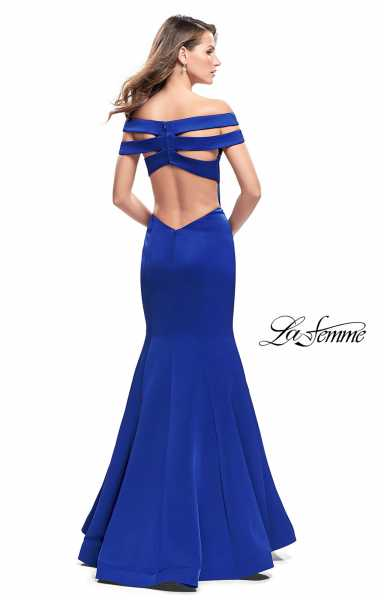 La Femme 25903 Off The Shoulder and V-Shape picture 1