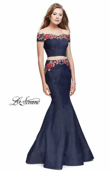 La Femme 25924 Off The Shoulder picture 1