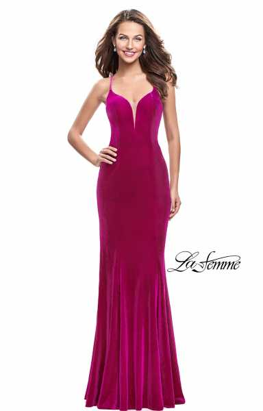 La Femme 25174 Has Straps and Sweetheart picture 1