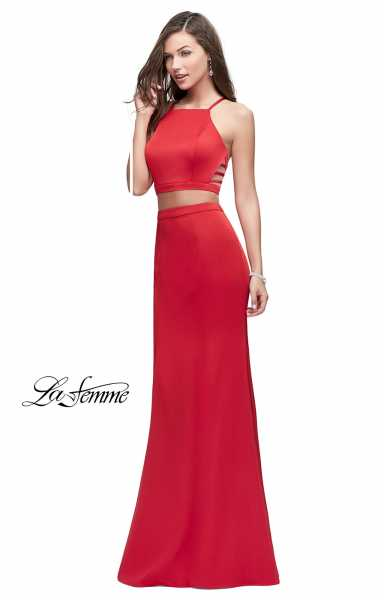La Femme 25220 Fitted and Two Piece picture 2