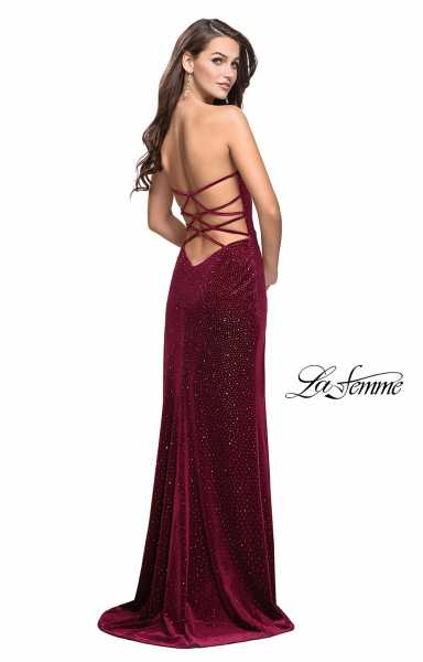La Femme 25443 Strapless and Sweetheart picture 1