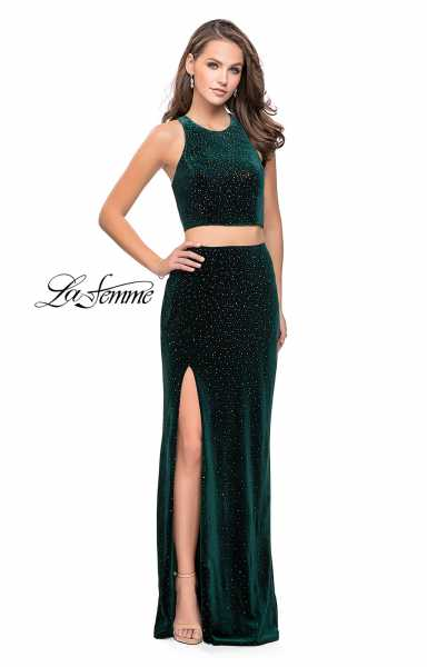 La Femme 25464 Fitted and Two Piece picture 2