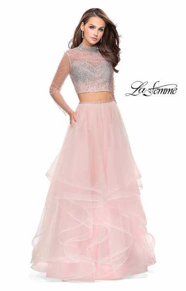 La Femme 25555 Ball Gowns and Two Piece picture 2