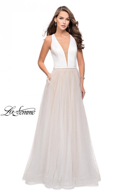 Long A-Line Soft Tulle