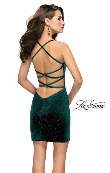 La Femme 26620 Has Straps and Sweetheart picture 1