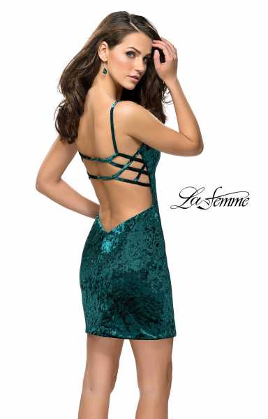 La Femme 26636 Sweetheart and Has Straps picture 1