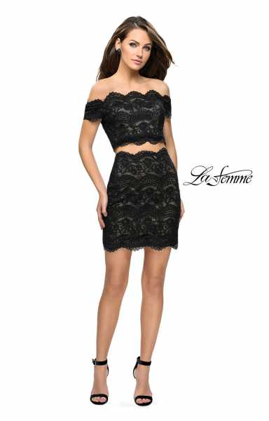 La Femme 26666 Fitted and Two Piece picture 2
