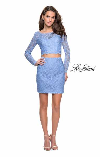 La Femme 26767 Fitted and Two Piece picture 2