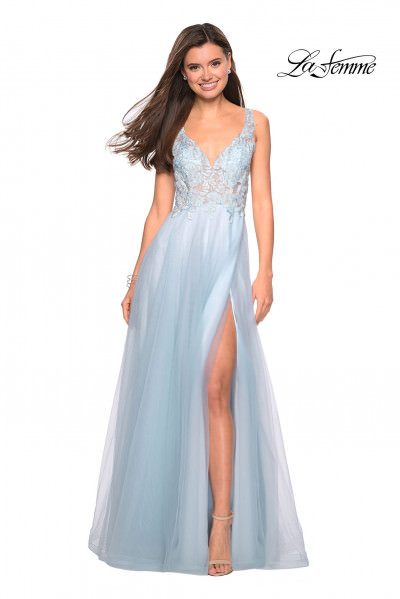 1f745bfbe62 Blue Prom Dresses