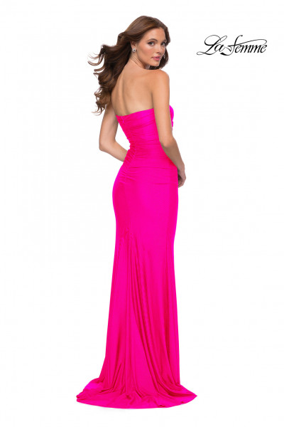 La Femme 29963 Strapless and Sweetheart picture 1