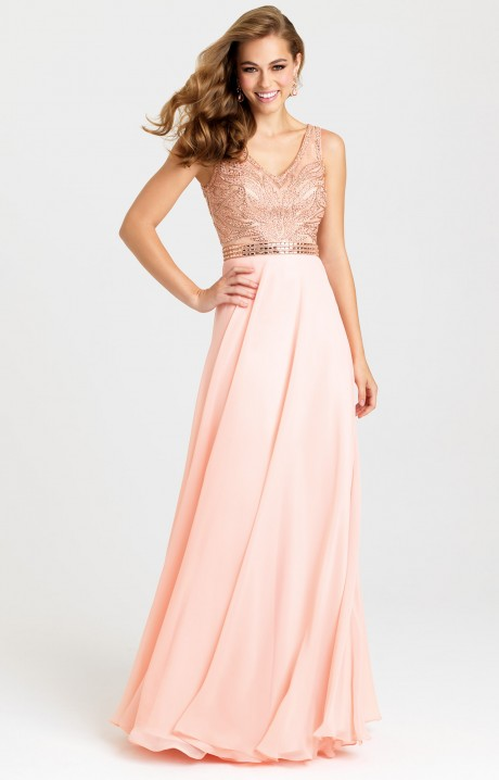 Madison James 16 344 My Art Deco Gown Prom Dress