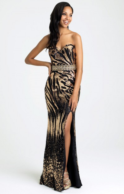 Animal Print Dresses Prom Pageant Formal