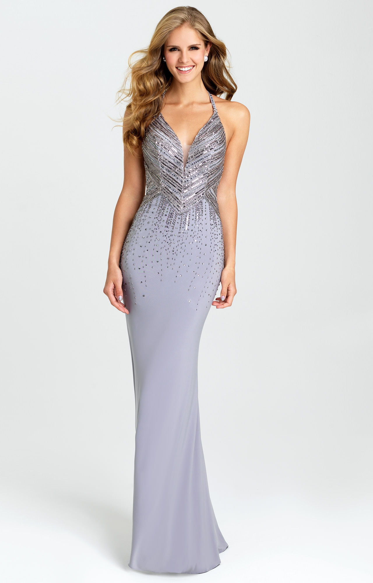 Madison James 16-405 - Great Gatsby Gown Prom Dress