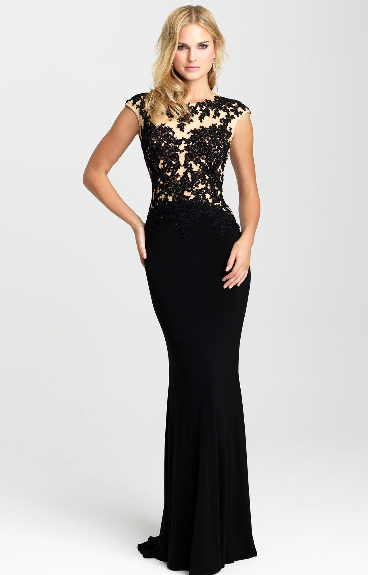 black open back prom dresses