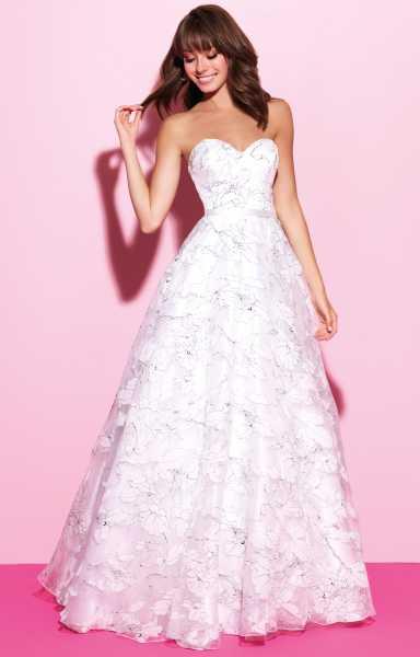 Madison James 17214 - Strapless Sweetheart Ballgown Prom Dress