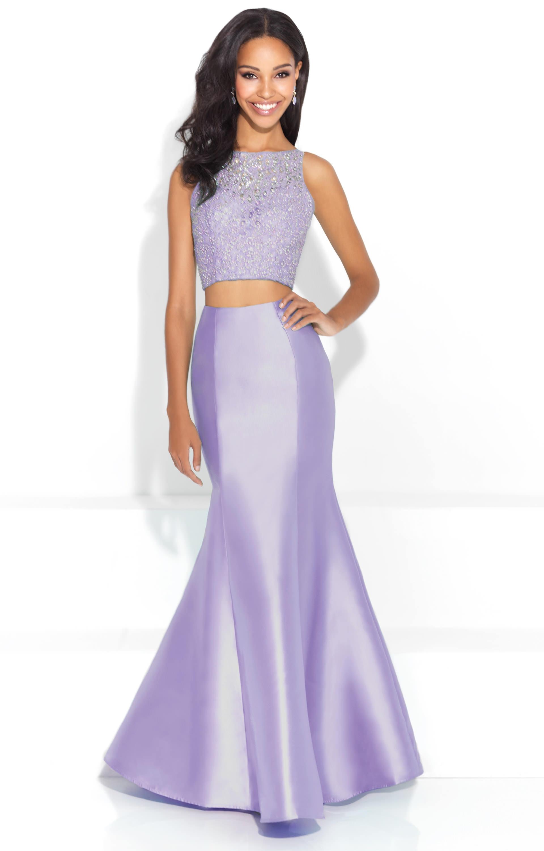 2dd675b45c8f0f Madison James 17-220 - Two Piece Sleeveless Mermaid Dress