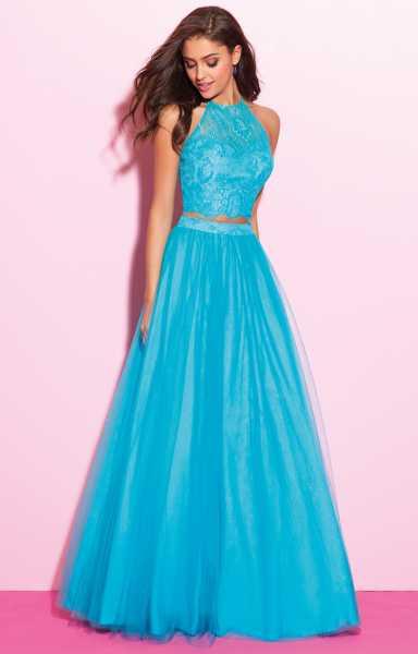 Bright Orange Mermaid Prom Dresses Madison James 17-284 -...