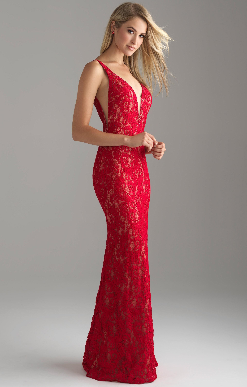 madison james 18628 low cut lace dress prom dress