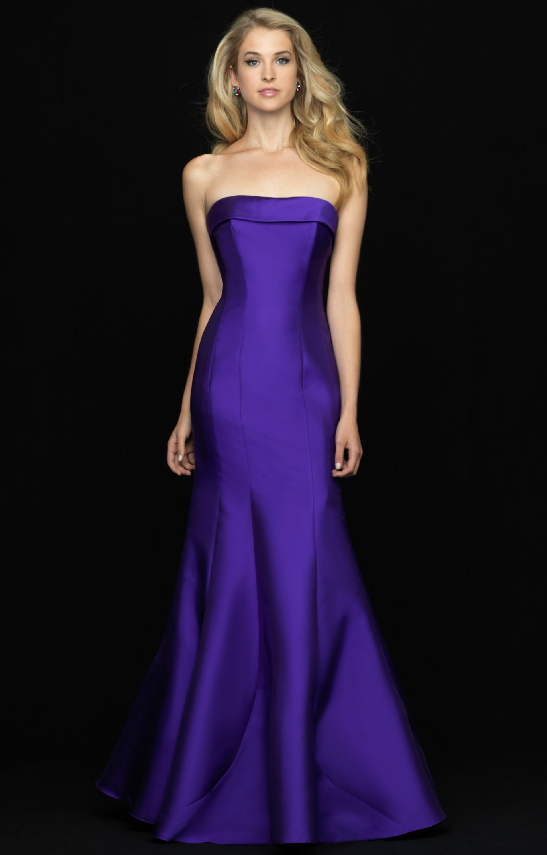 Madison James 18 635 Strapless Fit And Flare Dress Prom